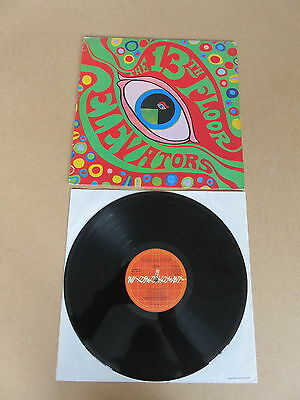 THE 13TH FLOOR ELEVATORS The Psychedelic Sounds Of  LP ORIGINAL 1978 UK PRESSING