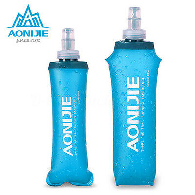AONIJIE Soft Flask Sports Running Cycling Water Hydration Bottle 250/500ML