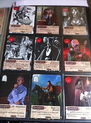 Ravenloft CCG Spellfire Master the Magic Complete set 100 cards mint