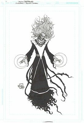Joe Prado Green Lantern Blackest Night Original Comic Art (DC Comics)