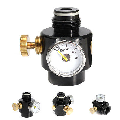 Paintball Co2 & Compress Air Regulator Tank Input 1500psi & Output 0-200psi