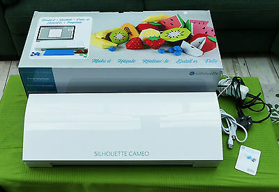 Silhouette Cameo A3 Cutting machine with spares