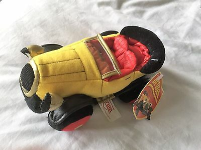Brum Car Soft Toy Tagged