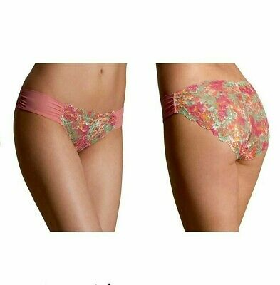 B.New Ex Marks & Spencer Floral Sweetheart Knickers Sizes 8-10-12-14-16-18