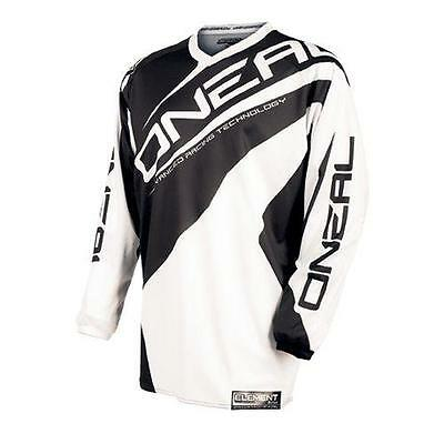 "Maglia cross | enduro O'NEAL bimbo ""Element"" youth RACEWEAR black/white ""L"""