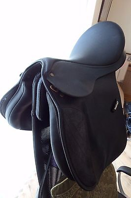 "17 "" Wintec Gp Saddle Black Changeable Gullet - Excellent Used"