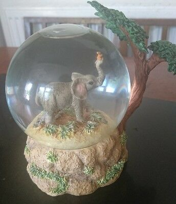 Tuskers Waterball Snow Globe  - Barry Price