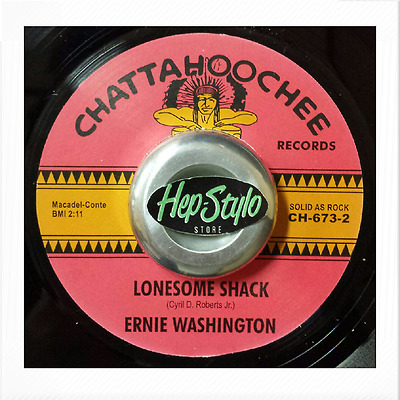 Ernie Washington 45 Re-Lonesome Shack-Chattaoochee 60S R&b Soul Mod 2 Sider