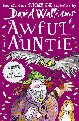 Awful auntie by David Walliams (Paperback) Incredible Value and Free Shipping!