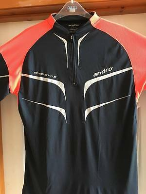 Andro Table Tennis Shirt Size Large