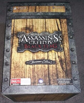 Assassin's Creed IV 4 Black Flag Buccaneer Collector's Edition PS3 AUS PAL - NEW