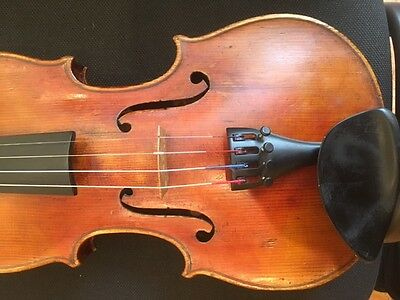 Old German Violin c.1920,  label Wilhelm Otto, Disseldorf, 1928 NO RESERVE