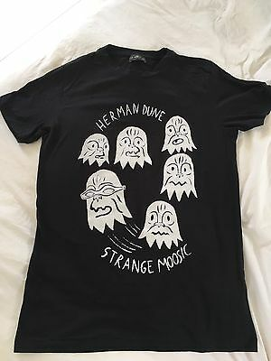 Herman Dune Band T-shirt Strange Moosic Small