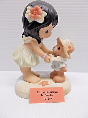 PRECIOUS MOMENTS IN PARADISE 101549 NEW c
