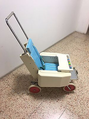 1960 Japan Pega Baby Stroller Carriage Pram Bridgestone Museum! It folds!