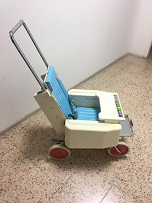 1960 Japan Pega Baby Stroller by Bridgestone (Folds into Small Case!!!) Museum!