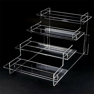 Craft Fair Tiered Display Stand Pop-Up Shop Stall Retail Home Black Shelves