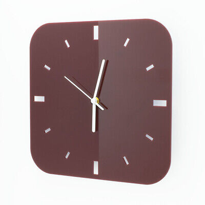 Large Square Wall Clock, Dashes Detail, Living Room, Dining, Kitchen, Office