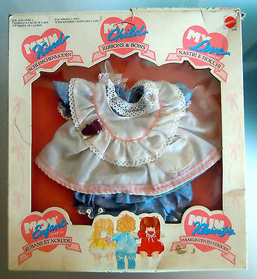MY CHILD LOVE Mattel Mein Kind Mon Enfant OUTFIT Ribbons & Bows NEW Doll baby