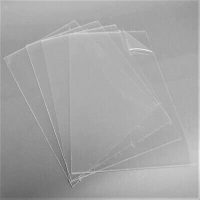 Dolls House Windows - Clear 1mm A4 PETG Plastic Sheets - Model Making - Crafts