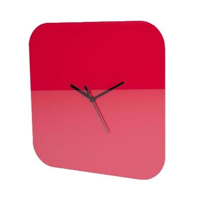 Plain Square Wall Clock, Minimalist, Blank Face, Living Room, Kitchen, Office