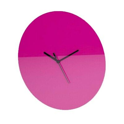 Plain Round Wall Clock, Minimalist, Blank Face, Living Room, Kitchen, Office