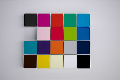 Bundle of Small Acrylic Panels, Random Colours, 2 Size Options, Pack of 10