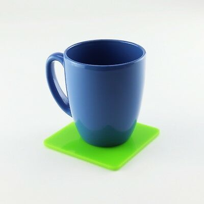 Square Coaster, Acrylic, Mix & Match, Kitchen, Dining, Outdoor, 45 Colours