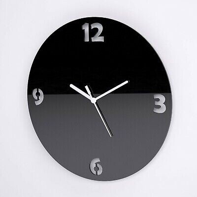 Large Round Wall Clock, Numbers Detail, Living Room, Dining, Kitchen, Office