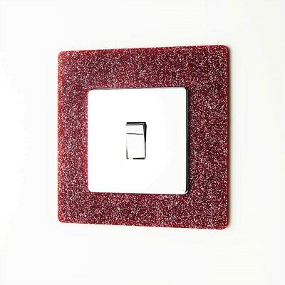 Light Switch / Socket Surround - Single or Double - 72 Colours - 3 for 2