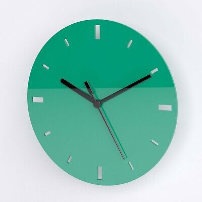 Small Round Wall Clock, Dashes Detail, Living Room, Dining, Kitchen, Office