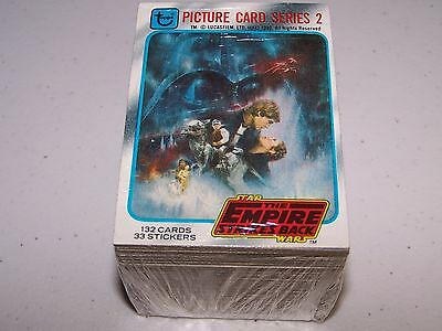 1980 Topps STAR WARS The Empire Strikes Back Series 2 Card Set (132 Cards) EX-NM