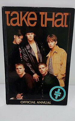 TAKE THAT OFFICIAL ANNUAL 1995 UNCLIPPED Excellent Condition - Rare Merchandise