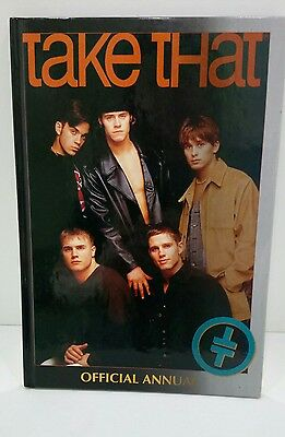 TAKE THAT OFFICIAL ANNUAL 1995 UNCLIPPED - Rare Merchandise