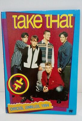 Take That Official Annual 1994 - Rare Pop Merchandise - Excellent Condition