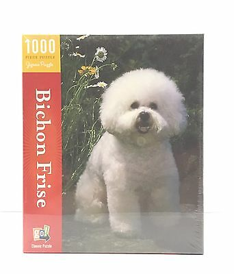 Bichon Frise Classic 1000 Piece Jigsaw Puzzle - Great Christmas Present - New