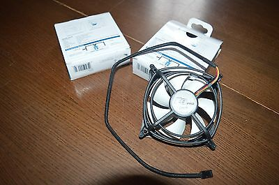 TWO (2)  - Arctic F9 Pro PWM 92mm Temperature Controlled PC Computer Case Fan(s)
