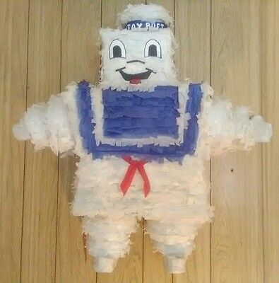 Stay Puft Marshmallow Man Piñata pinata ghostbusters