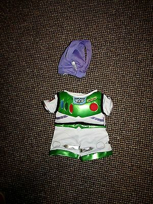 'build A Bear' Disney Buzz Lightyear (Toy Story} Fancy Dress Outfit / Costume
