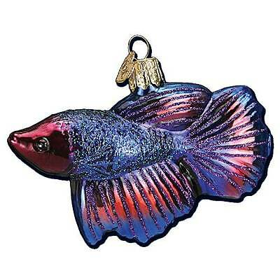 New Old World Christmas Betta Fish Pet Ornament 12384
