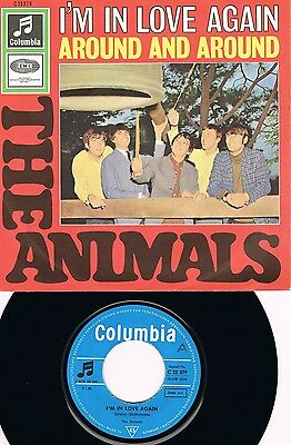 THE ANIMALS * Around And Around * deutsche Beat 45 PS