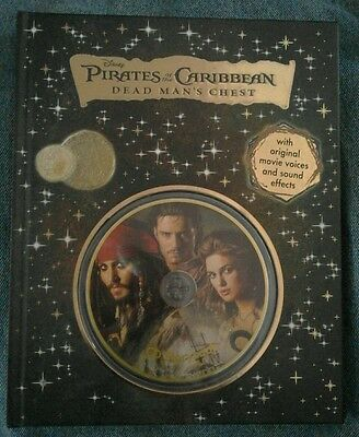 Disney Pirates of the Caribbean DEAD MAN'S CHEST - CD Storybook - book + CD