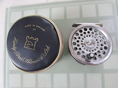 rare unusual vintage hardy marquis no. 5 trout fly fishing reel + case