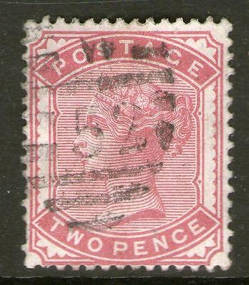 1880  2d  Deep Rose SG 168a Very Fine Used No Hidden Faults (cat £120+) Quality