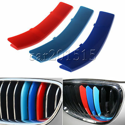 ///M Car Styling Front Grille Grill Trim Strip Cover For BMW X3 3 Series E90 UK