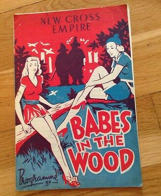 NEW CROSS EMPIRE programme BABES IN THE WOOD