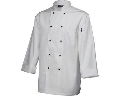 Whites Chefs Apparel long Sleeve Jacket White Coat Top Work Wear