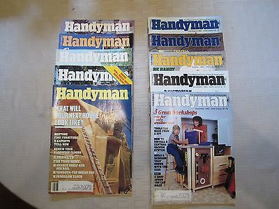 The Family Handyman Magazine Lot of 20 1983 and 1984 Complete