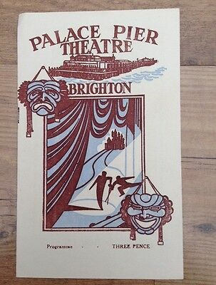 Palace Pier Theatre Brighton 1952 The Singing Valley