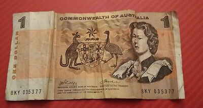 Commonwealth of Australia 1 Dollar 1960s